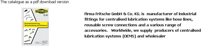 Lubrication systems - PDF catalog